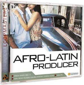 Loopmasters Afro Latin Producer Reason REFiLL-BYS