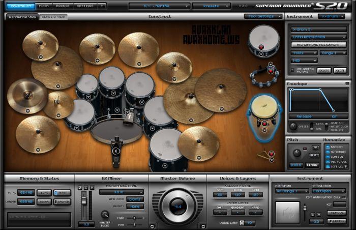 Toontrack Superior Drummer v2.4.0 Incl Patch and Keygen WiN/MAC-R2R
