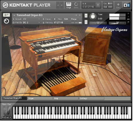 Native Instruments Vintage Organs v1.4.0 KONTAKT UPDATE-SYNTHiC4TE