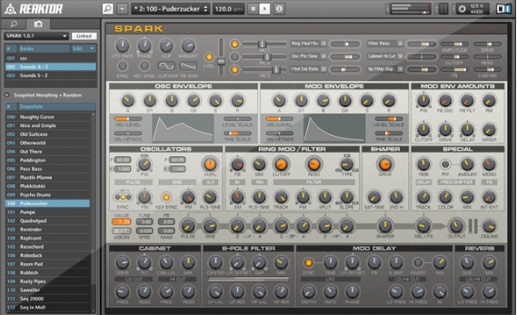 Native Instruments Reaktor Spark R2 v1.4.0 Update WiN/MAC-R2R