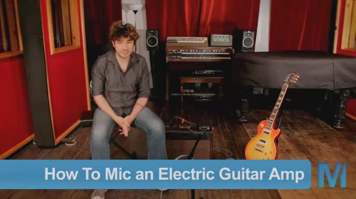 PUREMIX Recording Electric Guitar Amp TUTORiAL