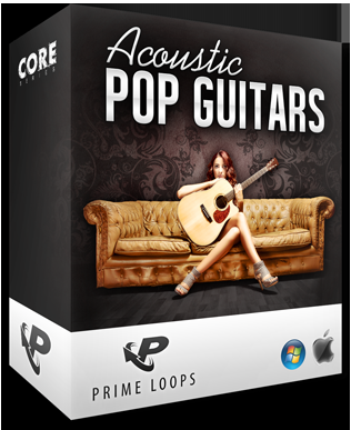 Prime Loops Acoustic Pop Guitars ACiD WAV-MAGNETRiXX