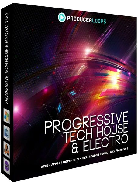 Producer Loops Progressive Tech House and Electro V1 MULTiFORMAT-MAGNETRiXX