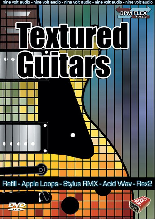 Nine Volt Audio Textured Guitars REX RMX-MAGNETRiXX
