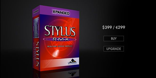 Spectrasonics Stylus RMX v1.9.6e UPDATE Incl. DATA Installer and KeyGen MacOSX WiN