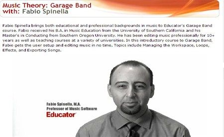 Educator.com Music Theory: Garage Band TUTORiAL