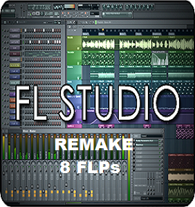 Fl studio remake 8 FLPs From Various EDM Artists