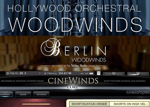 Orchestral Tools Berlin Woodwinds v2.1 UPDATE KONTAKT