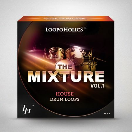 Loopoholics The Mixture Vol.1 House Drum Loops WAV-MAGNETRiXX