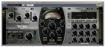 Cakewalk Vintage Channel VC-64 v1.1 UNLOCKED-R2R