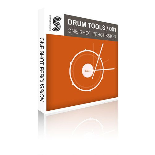 Samplephonics Drum Tools 001 One Shot Percussion KONTAKT-MAGNETRiXX