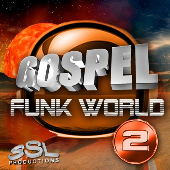 SSL Productions Gospel Funk World 2 MULTiFORMAT SCD-BYS