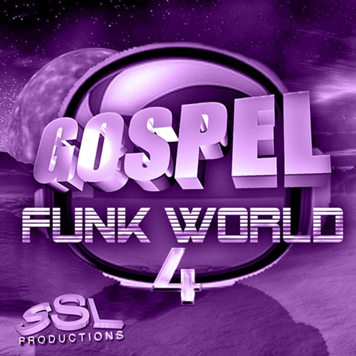 SSL Productions Gospel Funk World 4 WAV SCD-BYS
