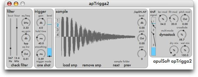 ApulSoft apTrigga2 v2.3.3 MAC OSX-UNION