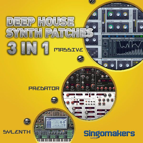 Singomakers Deep House Synth Patches 3 in 1 MULTiFORMAT-MAGNETRiXX