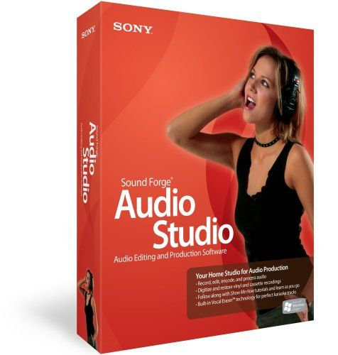 Sony Sound Forge Audio Studio v10.0.245