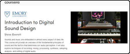 Emory University: Coursera - Introduction to Digital Sound Design TUTORiAL
