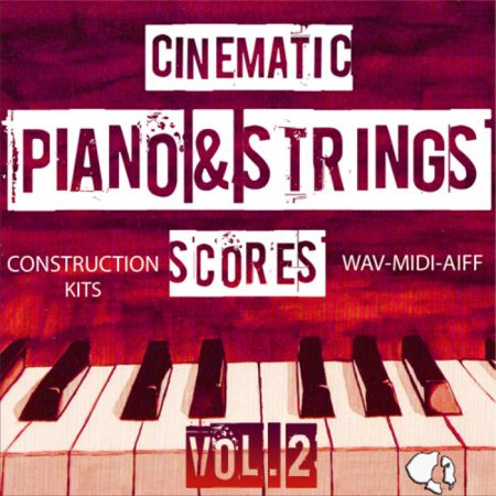 Auditory Cinematic Piano Strings Scores Vol.2 ACiD WAV AiFF MiDi-MAGNETRiXX