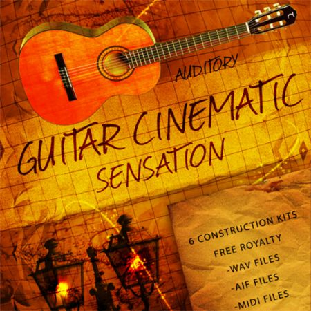 Auditory Guitar Cinematic Sensation WAV AiFF MiDi-MAGNETRiXX