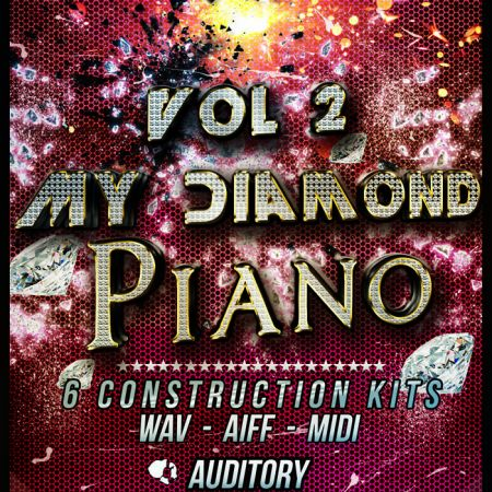 Auditory Piano My Diamond Vol.2 WAV AiFF MiDi-MAGNETRiXX