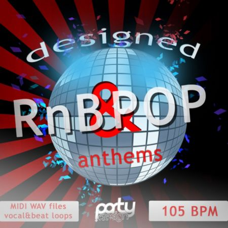 Party Design Designed RnB and Pop Anthems WAV MiDi-MAGNETRiXX
