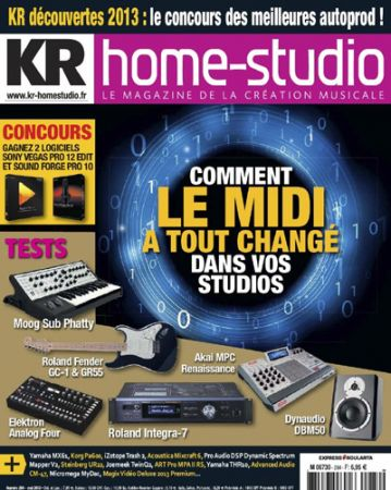 Keyboard Recording Home Studio N 284 - Mai 2013