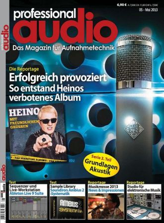 Professional Audio Magazin Mai No 05 2013