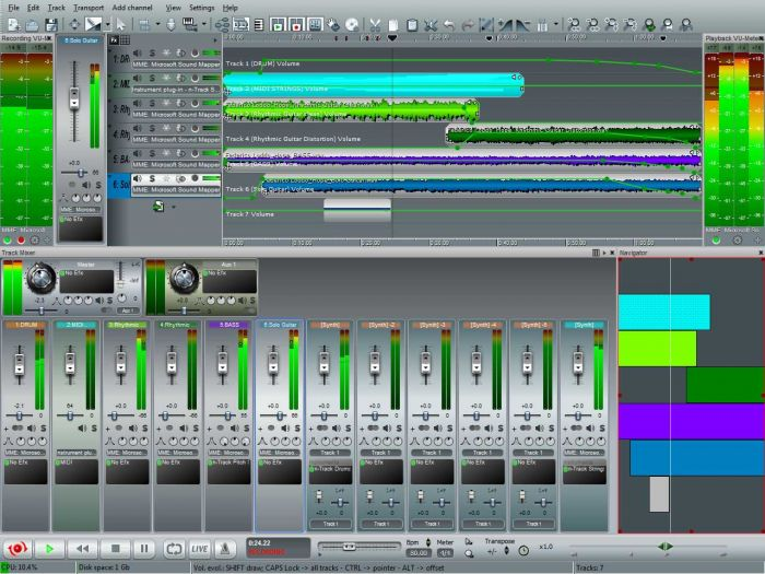 n-Track Studio EX v7.0.3 Build 3117 x86 x64 Incl Skins-CHAOS