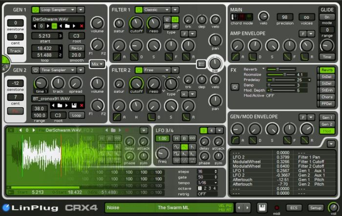 Linplug CRX4 New Presets +164 from Big!Tone and Philippe Favre