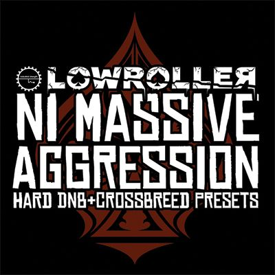 Industrial Strength Records Lowroller NI Massive Aggression NMSV-MAGNETRiXX