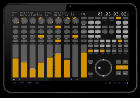 TouchDAW v1.4.6 for Android (Best remote for DAW)