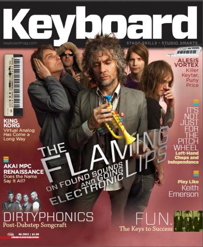 Keyboard Magazine - June 2013