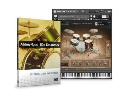 Native Instruments Abbey Road 50s Drummer KONTAKT SCD DVDR-SONiTUS