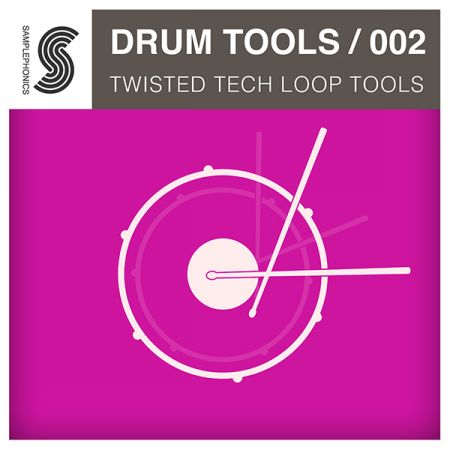 Samplephonics Drum Tools 002 Twisted Tech Loop Tools ACiD WAV AiFF REX2-MAGNETRiXX
