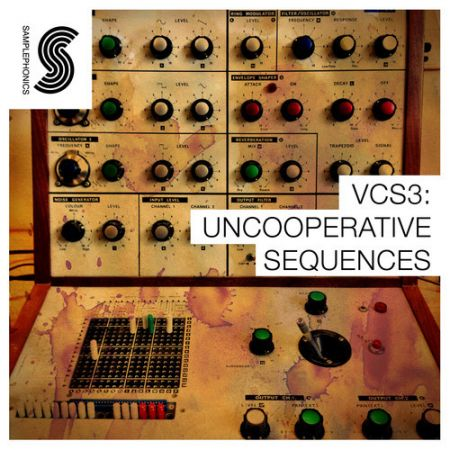 Samplephonics VCS3 Uncooperative Sequences ACiD WAV AiFF REX2-MAGNETRiXX