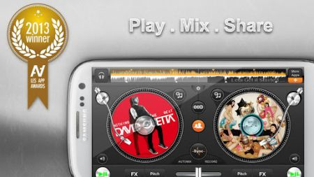 Edjing PRO DJ mixer turntables v1.2.1 For Android
