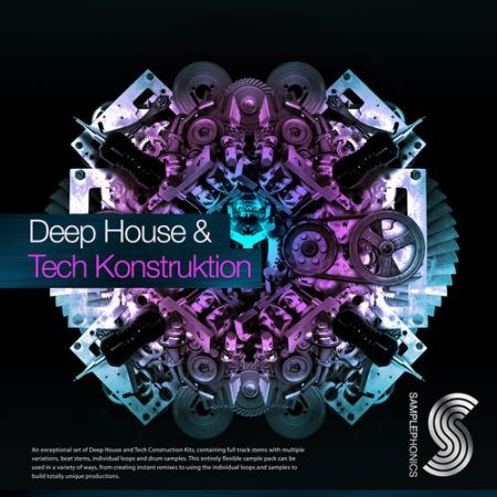 Samplephonics Deep House and Tech Konstruktion MULTiFORMAT
