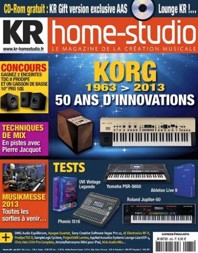 Keyboard Recording Home Studio No.285 - Juin 2013