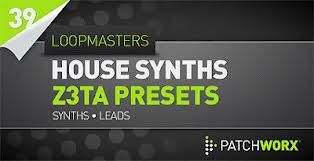 Loopmasters - House Synths Z3ta Presets