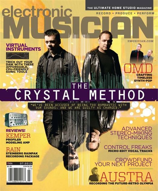 Electronic Musician - July 2013