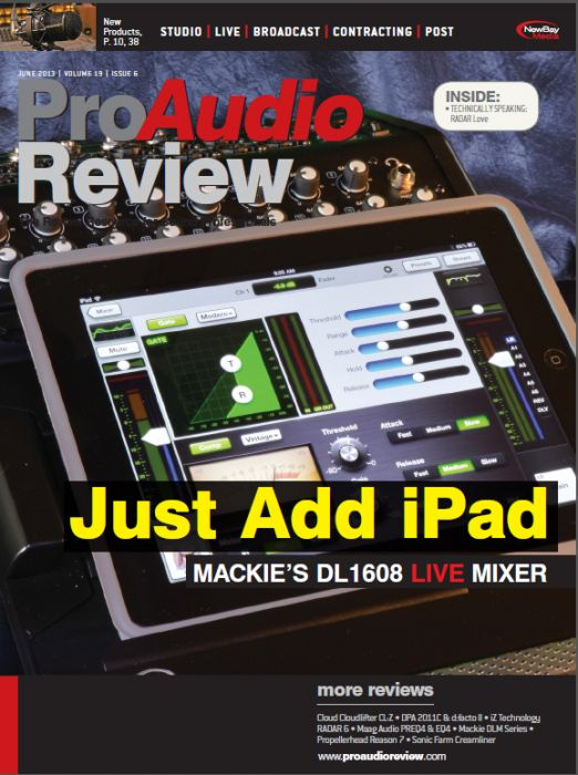 ProAudio Review - June 2013