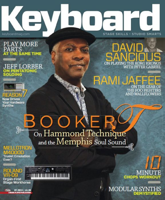 Keyboard Magazine - July 2013