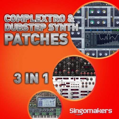 Singomakers Complextro and Dubstep Synth Patches 3 in 1 MULTiFORMAT-MAGNETRiXX