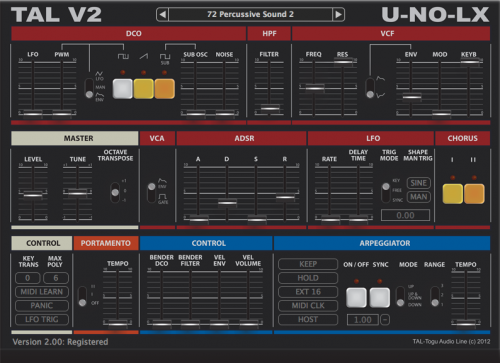 Togu Audio Line U-NO-LX v2.73 WiN/MAC-UNION