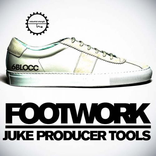 Industrial Strength Records 6Blocc Footwork Juke Producer Tools WAV AiFF Battery-MAGNETRiXX