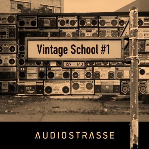 Audio Strasse Vintage School Vol.1 ACID WAV-MAGNETRiXX