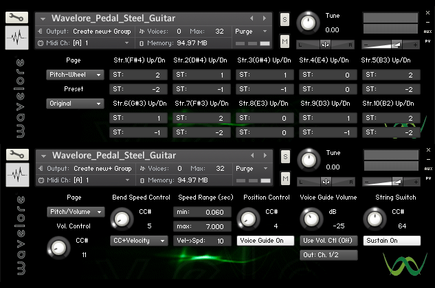 Wavelore Pedal Steel Guitar v2.5.1 KONTAKT-VON.G