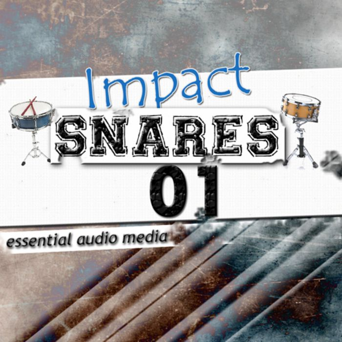 Essential Audio Media Impact Snares Vol.1 WAV-MAGNETRiXX