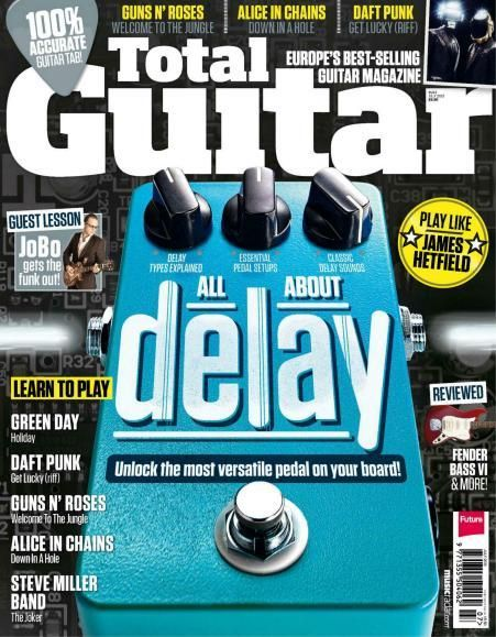 Total Guitar - July 2013