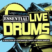 Loopmasters Presents Essentials 29 Live Drums WAV-MAGNETRiXX